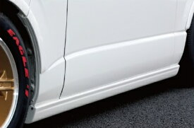 BEECAS ハイエース 200系 1 2型 ワイド車 サイドステップ ビーキャス 配送先法人住所のみ K-BREAK ケイブレイク