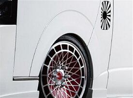 BEECAS ハイエース 200系 1 2 3 4型共通 標準車 ワイド車共通 アーチ下げオーバーフェンダー2 ver2 ビーキャス 配送先法人住所のみ K-BREAK ケイブレイク