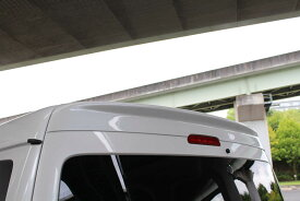 BEECAS ハイエース 200系 4型 ワイド車 リアウィング ウイング ver3 ビーキャス 配送先法人住所のみ K-BREAK ケイブレイク