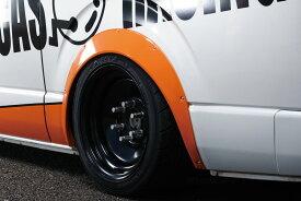 BEECAS ハイエース 200系 標準 ワイド アーチ下げ オーバーフェンダー ver3 ビーキャス 配送先法人住所のみ K-BREAK ケイブレイク
