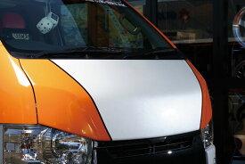 BEECAS ハイエース 200系 標準 ナロー バッドフェイスボンネット ビーキャス 配送先法人住所のみ K-BREAK ケイブレイク