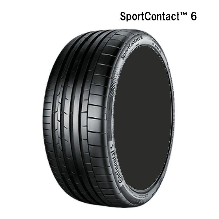 サマー 夏タイヤ コンチネンタル 23インチ 4本 315/25R23 (102Y) XL スポーツコンタクト TM 6 CONTINENTAL SportContact TM 6