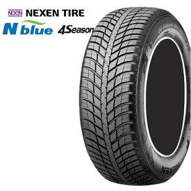 17インチ 215/55R17 4本 1台分セット オールシーズンタイヤ ネクセンタイヤ Nブルー4シーズン NEXEN TIRE N-blue 4SEASON