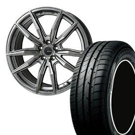 215/45R17 215 45 17 トランパスmpZ TOYO トーヨー タイヤ ホイール セット モンツァジャパン R バージョンブロッカー 1本 17インチ 5H100 7.0J 7J R VERSION Brocer