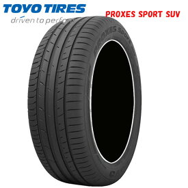 20インチ 265/45R20 108Y XL 4本 夏 サマータイヤ トーヨー プロクセススポーツ SUV TOYO PROXES SPORT SUV CH