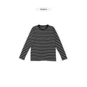 ◆ボーダーロンT◆ボーダーメンズカットソートップス長袖Tシャツ【商品到着後レビューで送料無料】