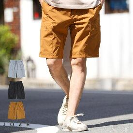 ◆ワッシャーカーゴショーツ◆ハーフパンツ メンズ ショートパンツ 短パン 膝上 おしゃれ ボトムス メンズファッション 夏 夏服 夏物 カーゴ ワイド ブラック グレー ブラウン セットアップ