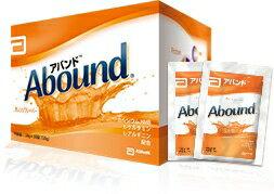 【あす楽対応】【送料無料】アボットジャパン アバンド(abound) オレンジフレーバー 1箱(24g×30袋)【栄養補助食品】アミノ酸 HMB配合