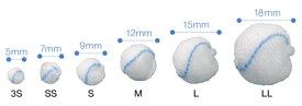 オオサキメディカル オオサキ ツッペル・X ベル型3S 5mm(直径)100個入 19994