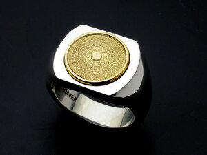 般若心経リング・印台・K18金ゴールドエンブレムHeartSutra 全文 空 お守り 意味 YG 750caratgold 純金 相場 無垢 グラム 指輪 ring サイズ ギフト プレゼント メンズ レディース 彫金 彫刻 石留め 名入
