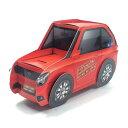 バースデーライト付きメロディーカード P258 赤いスポーツカー サンリオ