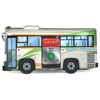 생일 라이트 부착 사운드 카드 P259 버스 「아나운스와 버스의 소리」산리오