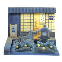 【13-15日5%OFFクーポン&P5倍】 グリーティングカード 多目的 夏 サマー ライト付きサウンドカード 夜の日本庭園 S4…