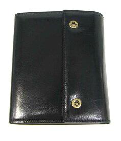 ブリットハウス システム手帳 バッファローカーフ A6サイズ ブラック/黒 bth-1110bk BRIT HOUSE