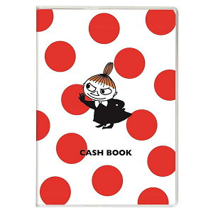 家計簿 ムーミン キャッシュブック ドット A6サイズ AD050-75 68頁 学研ステイフル 手軽に使えるコンパクトでかわいい簡易家計簿 キャラクター
