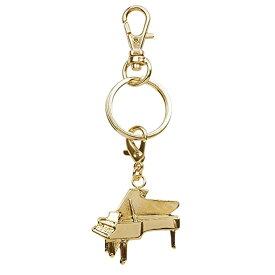ナカノ ブラスバンドキーホルダー ピアノ ゴールド MM120KHPIG NAKANO ALL MUSIC Charm Keychain NAKANO