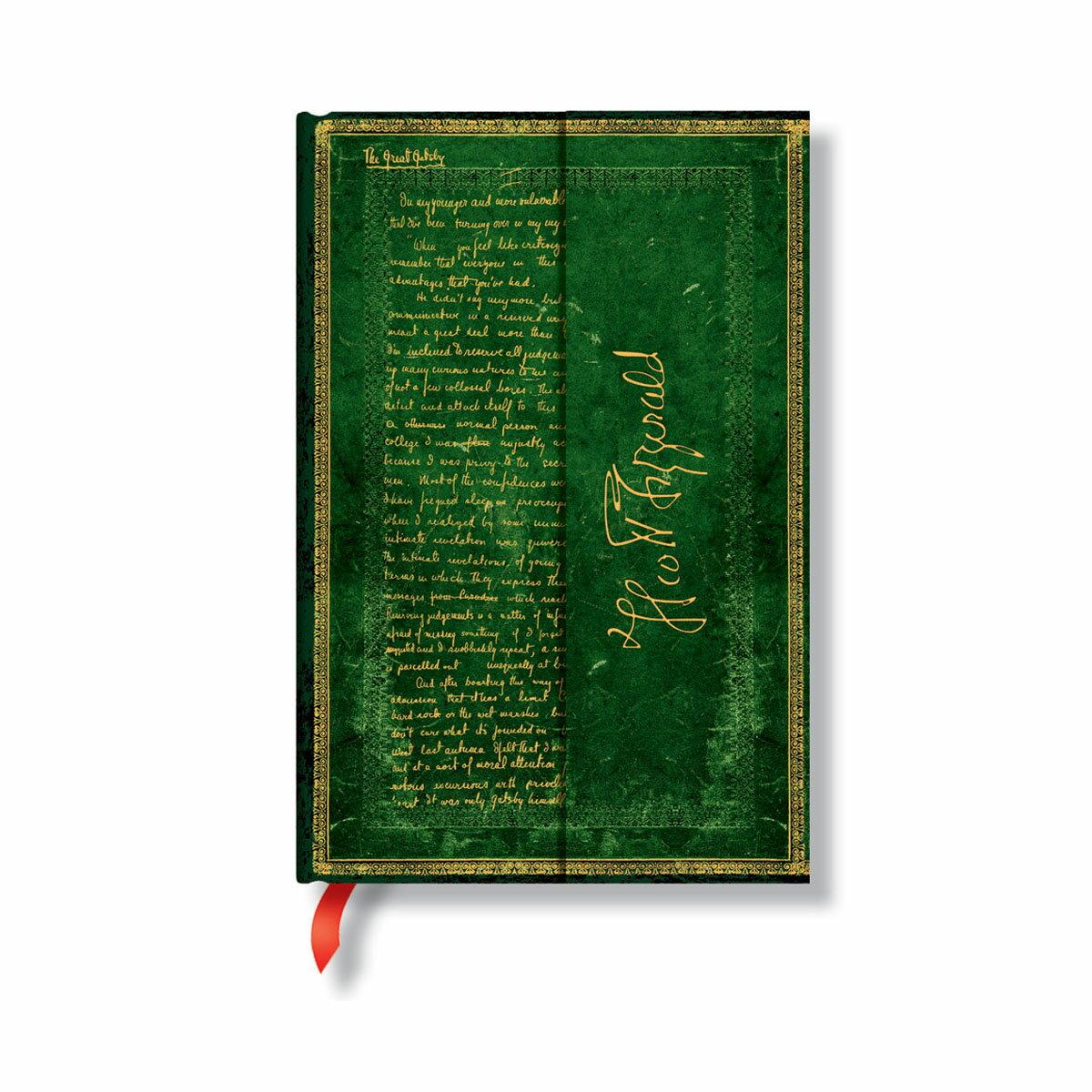 paperblanks ペーパーブランクス ノートブック ミニ(MINI)サイズ アーティストビジョン フィッツジェラルド グレート・ギャッツビー PB1405-8 マグネット式カバー 176頁 罫線