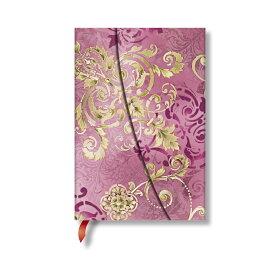 paperblanks ペーパーブランクス ノートブック ミニ(MINI)サイズ ベル・エポック パールピンク PB4429-1 マグネット式カバー 176頁 罫線