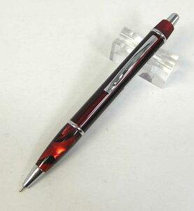 OHTO ニードルボールペン レッド AT-5R219-RD アメリカンテイスト油性ボール たった500円でこの高級感