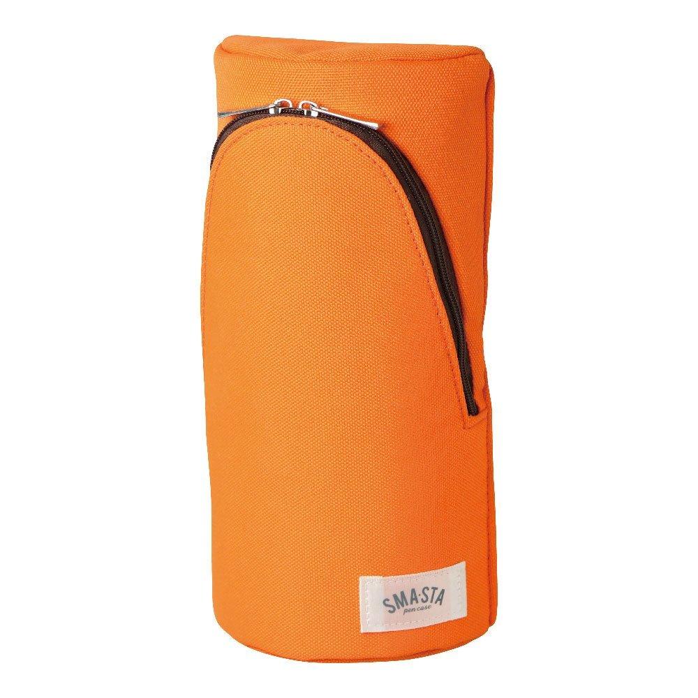 スマ・スタ 立つペンケース オレンジ FD-7041-OR ピタッと安定 磁石内蔵 ソニック
