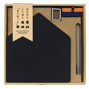 かたちとこくばん まぐねっと セット いえ KTCT-S1 黒板+チョーク+黒板ふき+スタンド 日本理科工業