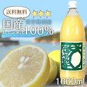 国産レモン果汁100% 1000ml 国産レモン果汁100% 1リットル 国産レモン果汁100% 1リットル 瀬戸内レモン 瀬戸内レモ…