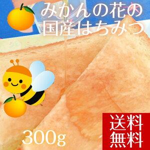 【送料無料】はちみつ みかん 国産 愛媛県産 大三島みかんハチミツ 天然蜂蜜 300g 純粋 はちみつ 国産 ハチミツ 純粋 蜂蜜 純粋 はちみつ 国産蜂蜜 みかん蜂蜜 天然はちみつ 柑橘 無添加 愛媛