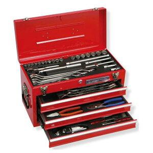 スーパーツール S8000DX プロ用デラックス工具セット 工具セット チェストタイプ 9.5sq