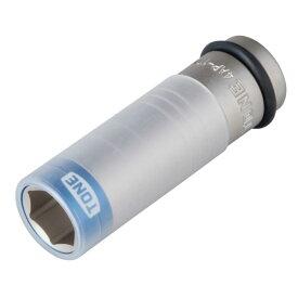 自動車専用インパクト TONE 4AP-17N プロテクター付インパクト用 薄形ホイルナット ソケット 二面幅寸法 17M/M