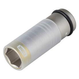 自動車専用インパクト TONE 4AP-21N プロテクター付インパクト用 薄形ホイルナット ソケット 二面幅寸法 21M/M