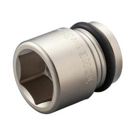 インパクト ソケット 二面幅寸法 28mm 六角 差込角19.0mm 3/4 自動車整備 現場 エアー工具 インパクトレンチ さびにくい タイヤ交換 ソケット DIY TONE 6NV-28