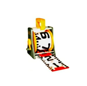 R15A30M リボンロッド 150幅 30m ケース入り 工事 現場 撮影 巻尺 記録 測定 事故 災害 スポーツ 記録 証明用 両サイド150E-1