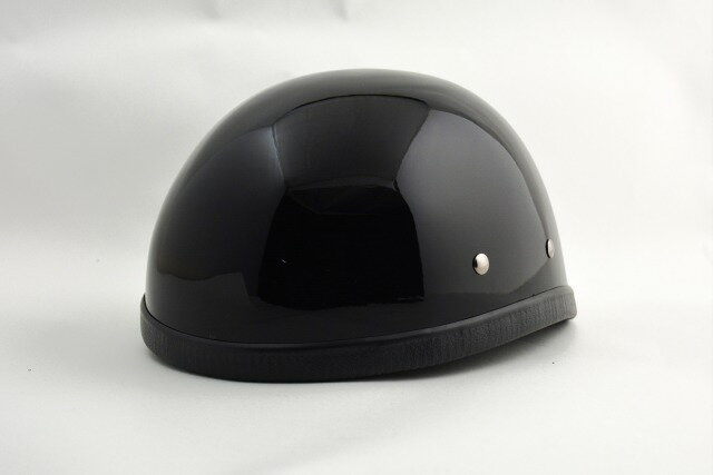 BICYCLE HELMET/EAGLE HALF HELMET/イーグルハーフヘルメット/ブラック(検索ワード)装飾用ダックテール・アウトロー・アメリカン・USAノベルティー・ハンボウ・半帽・半ヘル・スケボー・SK8・スノボー・MTB