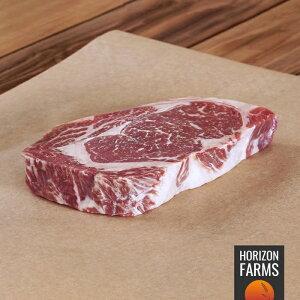 USDA プライム リブロースステーキ 300g 最高品質 アメリカンビーフ リブアイ グラスフェッド グレインフィニッシュ ホルモン剤不使用 抗生物質不使用 霜降り 厚切り ステーキ とろけるステー
