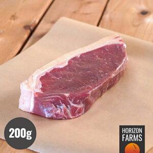 ニュージーランド産 100% グラスフェッドビーフ 牛肉 サーロイン ステーキ 200g 牧草牛 赤身 厚切り 無農薬 ホルモン剤不使用 抗生物質不使用 遺伝子組換え飼料不使用