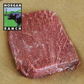 モーガン牧場ビーフ ミスジステーキ 300g 最高品質 アメリカンビーフ 熟成 グラスフェッド グレインフィニッシュ ホルモン剤不使用 抗生物質不使用