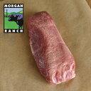モーガン牧場ビーフ 牛タン ブロック 500g以上 高品質 アメリカンビーフ 熟成 ホルモン剤や抗生物質不使用