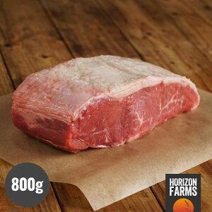 オーストラリア産 100% グラスフェッド プレミアム ビーフ アンガス牛 サーロイン ブロック 800g 牧草牛 ホルモン剤不使用 抗生物質不使用 遺伝子組換え飼料不使用 オージービーフ 厚切り ス