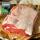 モーガン牧場ビーフ プライム リブロース 3kg 高品質 アメリカンビーフ 熟成 ホルモン剤や抗生物質不使用