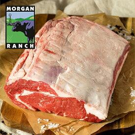 モーガン牧場ビーフ プライム リブロース 3kg 最高品質 アメリカンビーフ 熟成 グラスフェッド グレインフィニッシュ ホルモン剤不使用 抗生物質不使用