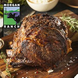 モーガン牧場ビーフ モーガン牧場ビーフ 骨付き スタンディング リブロース 5kg 最高品質 アメリカンビーフ 熟成 グラスフェッド グレインフィニッシュ ホルモン剤不使用 抗生物質不使用