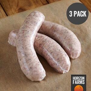 100% 無添加 砂糖不使用 放牧豚の豚肉使用 高品質 カントリースタイル 生ソーセージ (12本) ホルモン剤不使用 抗生物質不使用