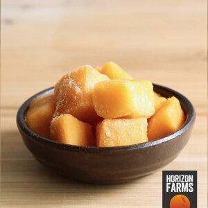 有機 JAS 認証 オーガニック 冷凍 マンゴー カット 1kg ペルー産 砂糖不使用