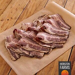 100% 無添加 無塩せき 100% グラスフェッド 牛肉 パストラミ ビーフ ベーコン スライス 300g 砂糖不使用 冷凍 放牧豚 発色剤不使用 亜硝酸ナトリウム不使用 牛 ベーコン