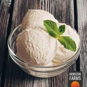 有機 JAS オーガニック 無添加 ジェラート アイス バニラ味 乳製品・卵不使用 6個 セット 合計510ml 低脂肪 スイーツ デザート ギフト