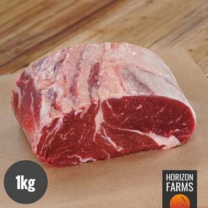 オーストラリア産 100% グラスフェッド プレミアム ビーフ アンガス牛 リブロース ブロック 1kg 牧草牛 ホルモン剤不使用 抗生物質不使用 遺伝子組換え飼料不使用 オージービーフ ロースト用