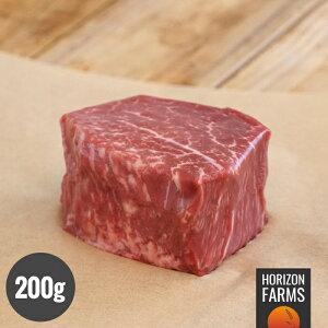 オーストラリア産 100% グラスフェッド プレミアム ビーフ 厚切り牛肉 ヒレ ステーキ 200g 牧草牛 ホルモン剤不使用 抗生物質不使用 遺伝子組換え飼料不使用 柔らかい オージービーフ アンガ