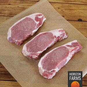 北海道 どろぶた 放牧豚 ロース ステーキ 500g フリーレンジ ポーク 国産 高品質 豚肉 放牧 北海道産