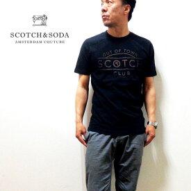 SCOTCH&SODA(スコッチ&ソーダ)半袖Tシャツ 正規代理店経由[292-74419]