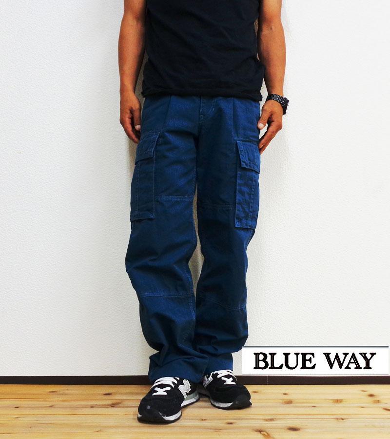 BLUE WAY(ブルーウェイ)ムラツイルカーゴパンツ【M1809】日本製